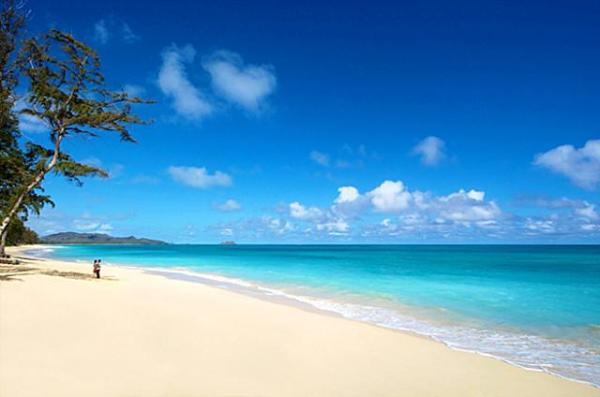 Waimanalo Bay Beach Park, Hawaii